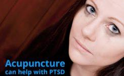 Acupunctuur kan helpen bij een Posttraumatische stressstoornis; PTSS