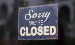 Wegens werk vakantie tot eind mei gesloten